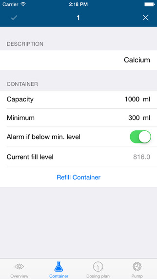 GHL Control App Container