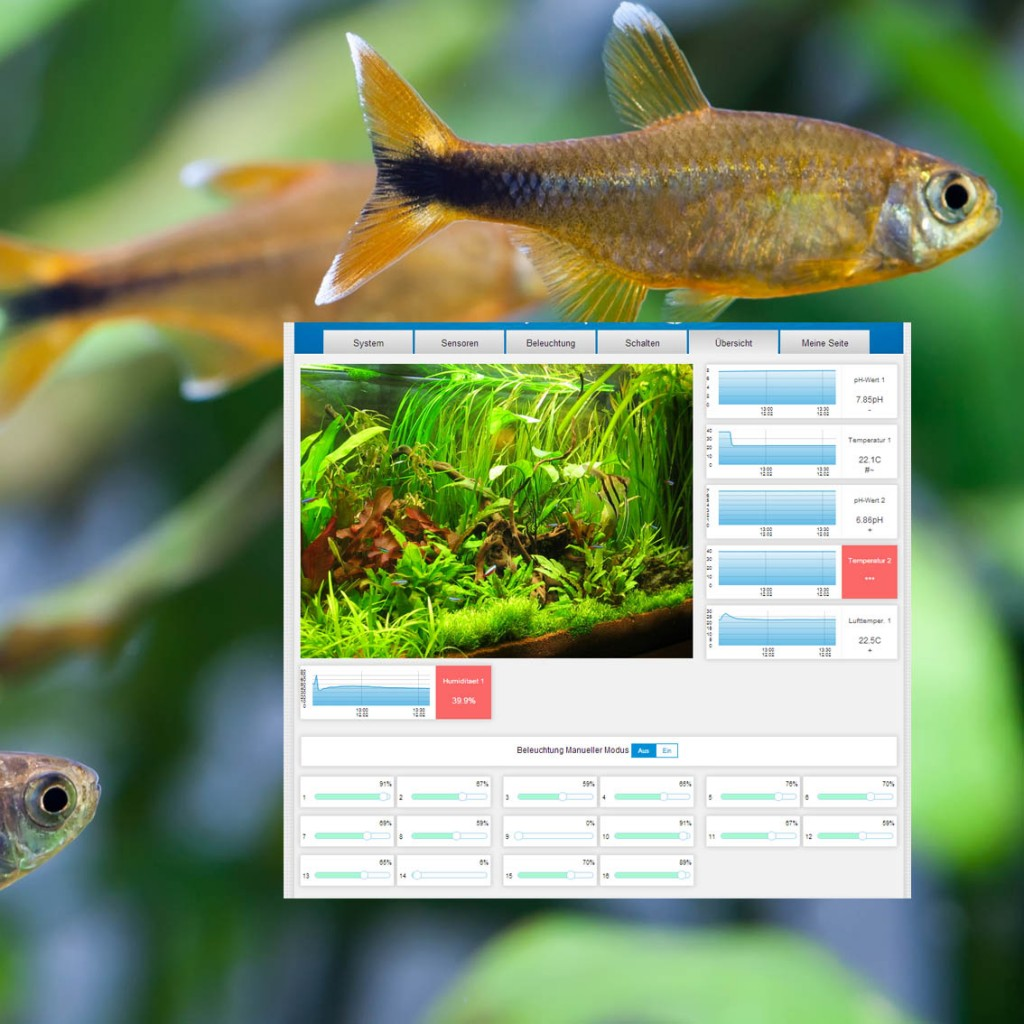 ProfiLux Webserver