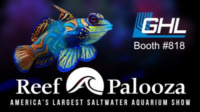 GHL at #reefapaloozaorlando, booth #818
