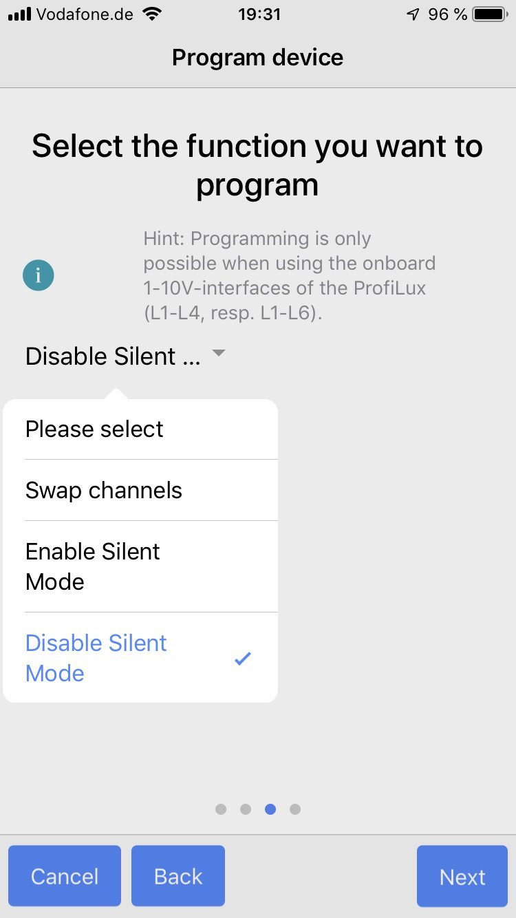 Disable Silent mode